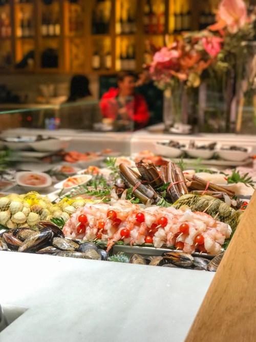 seafood tapa vinitus barcelona