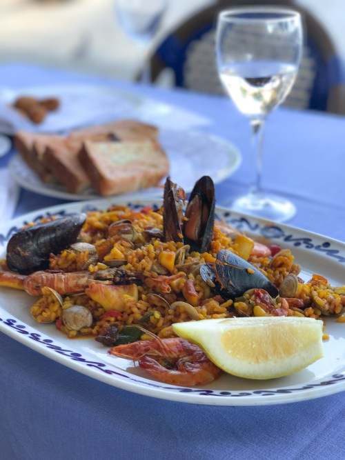 Seafood Paella at Restaurante Salamance