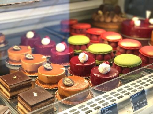 Desserts from Au Petit Versailles du Marais Paris