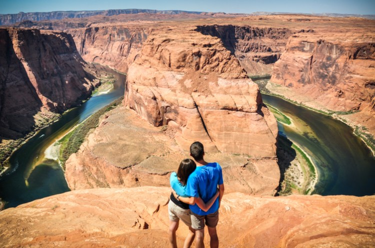 horseshoe bend USA blog voyage trotteurs addict
