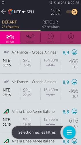 application voyage téléphone