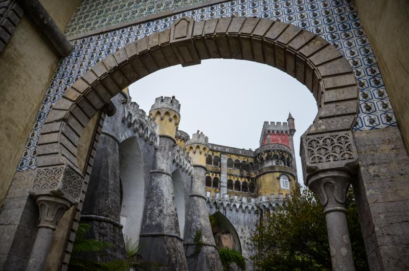 Palais national de Pena Sintra