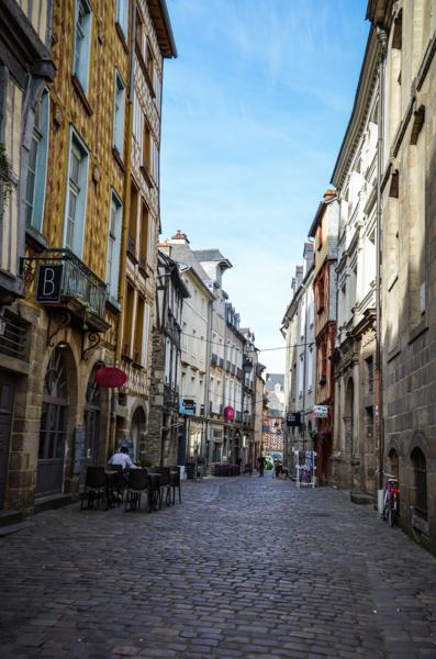 rue du chapitre Rennes bretagne