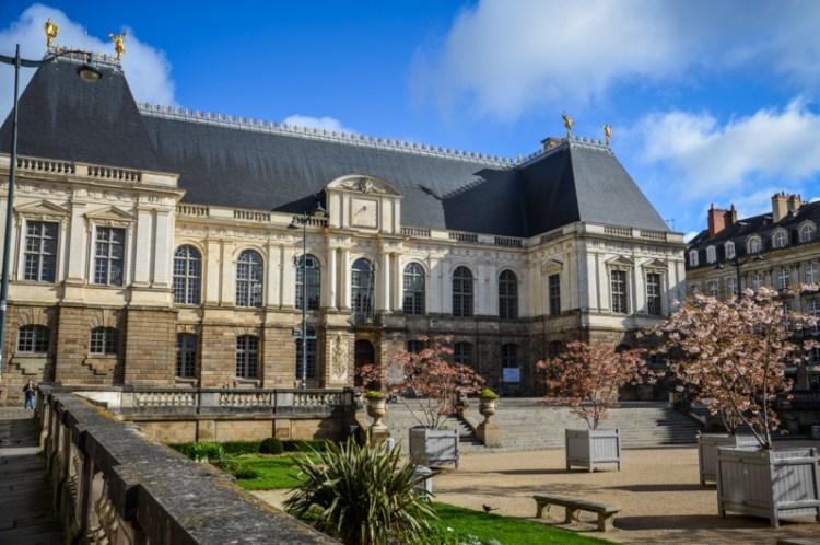 Rennes parlement de bretagne