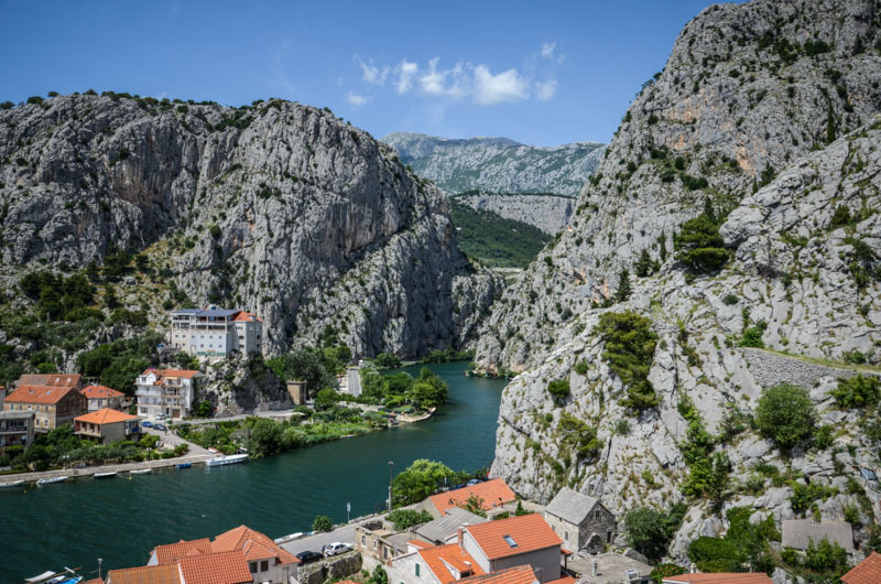 Omis Croatie