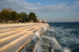 Zadar Croatie orgues marines