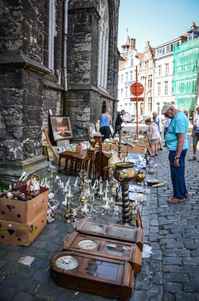 Gand belgique blog voyage trotteurs addict marché