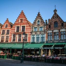 Visiter Bruges la belle Flamande