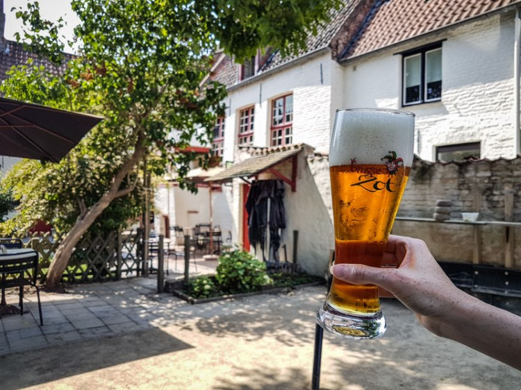 Bruges belgique adresse gourmande bière café Vlissinghe