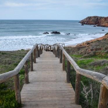 plage d'amado algarve portugal