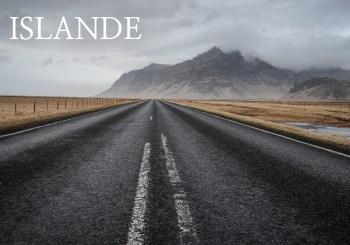 Islande road trip hiver