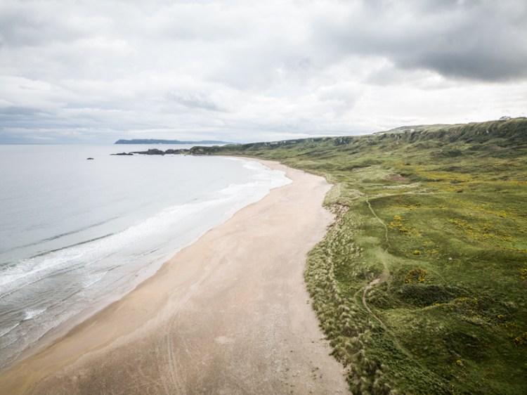 irlande du nord plage