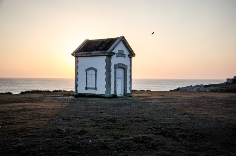 belle île coucher de soleil bretagne
