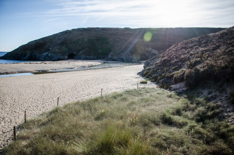 belle île plage d'herlin