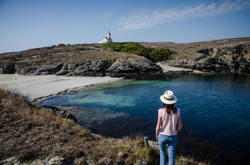 pointe des poulains plage belle île