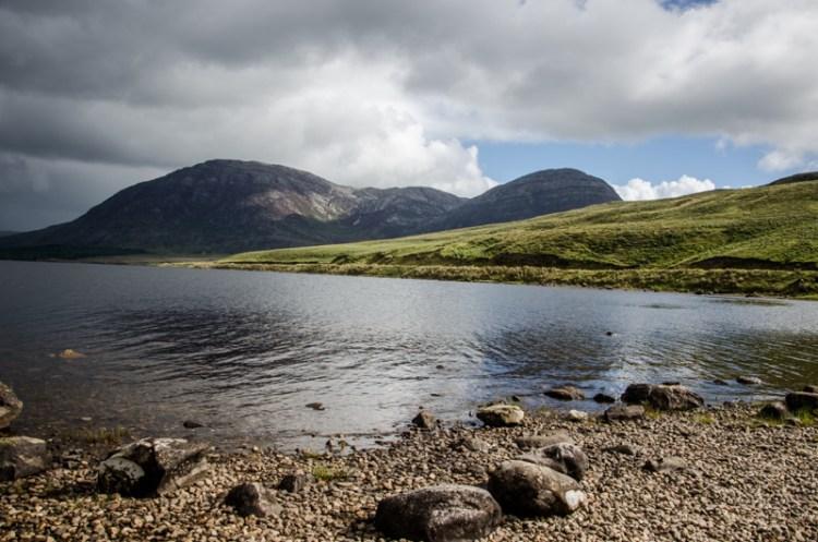 connemara irlande lacs