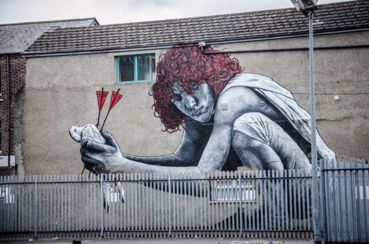 irlande du nord street art belfast