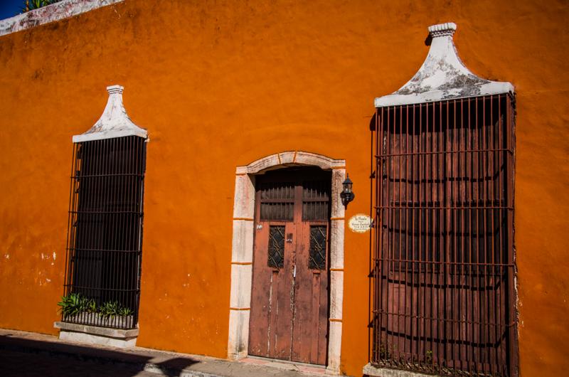 valladolid façades yucatan