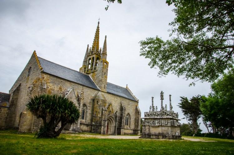 chapelle et calvaire tronoen