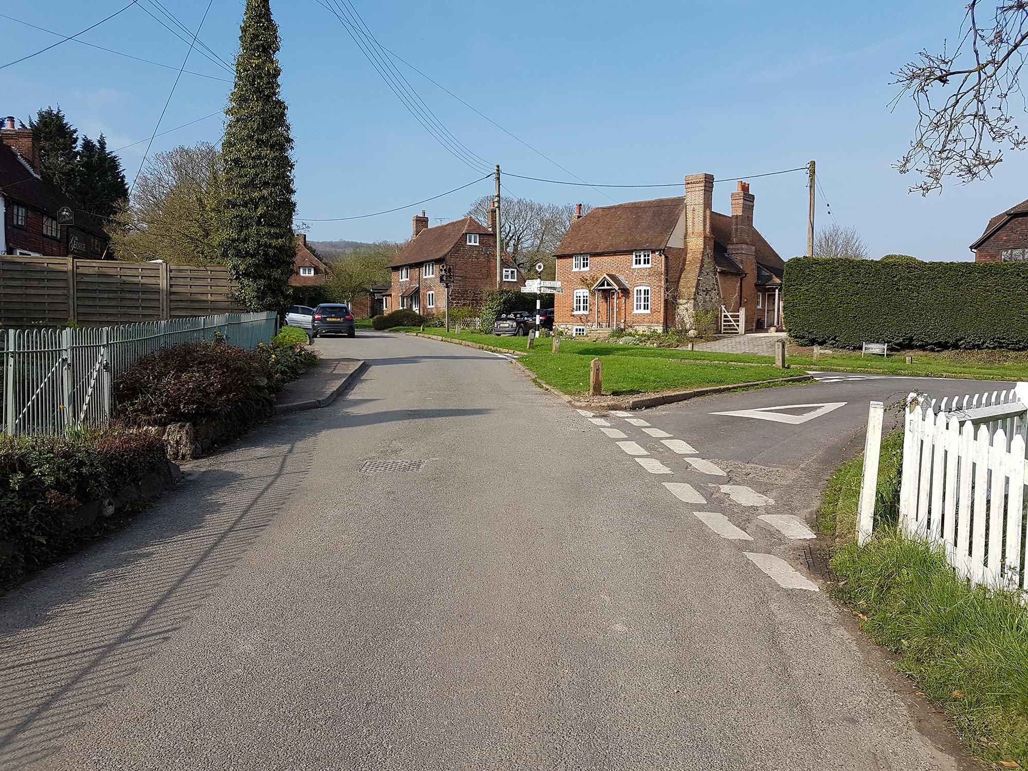 Trottiscliffe village views