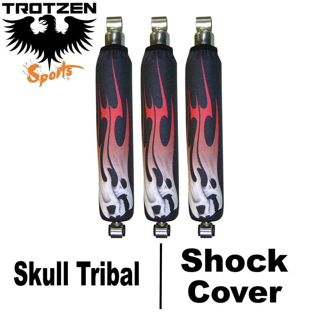 Polaris Trailboss Skull Tribal Shock Covers  Trotzen Sports
