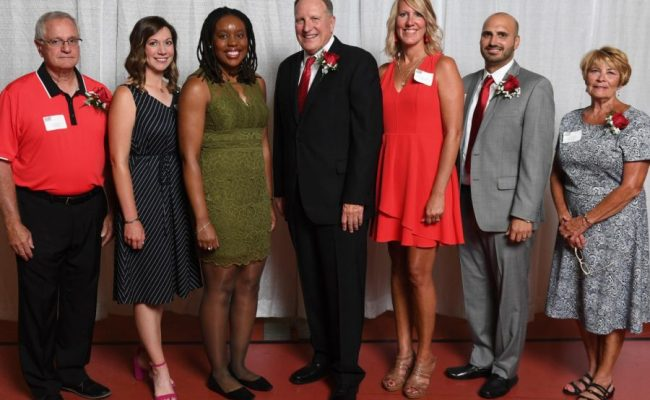 Eight New Members One Team Inducted Into Athletics Hall