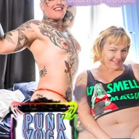 Punk Yoga with Tender Furiosa and Courtney Trouble