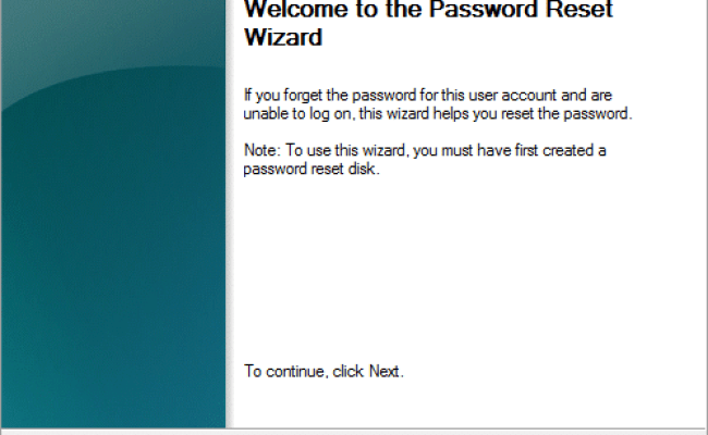 How To Reset Your Password In Windows 10 Troubleshooter