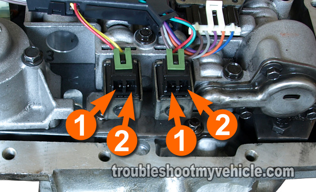 2005 Chevy Malibu Transmission Solenoid