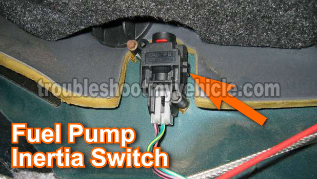2001 Mustang Fuel Pump Relay Location