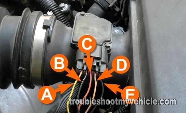 Cobalt Wiring Diagram Part 1 How To Test The Mass Air Flow Maf Sensor Gm 3 5l