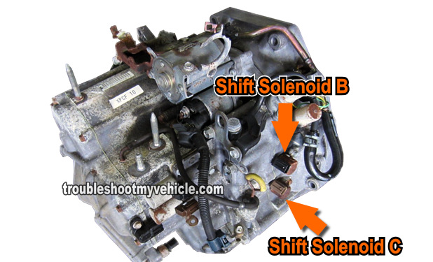 2001 honda civic wiring diagram 1999 gmc sierra tail light part 1 -how to test: shift solenoid b and c (honda 2.2l, 2.3l)