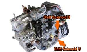 Part 1 How to Test: Shift Solenoid B and C (Honda 22L, 23L)