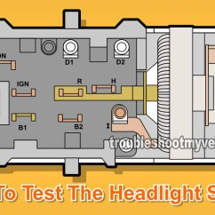 1965 Mustang Headlight Wiring Diagram 2005 Toyota Corolla Fuse Box Ford Switch Schematics Part 1 How To Test The 1979 2017 Diagrams