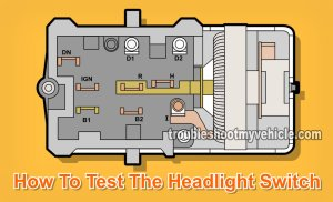 Part 1 How to Test the Ford Headlight Switch