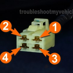 2003 Honda Crv Ac Wiring Diagram Trane Water Source Heat Pump Part 1 How To Test The Blower Motor Power Transistor 2001 2007 Circuit Descriptions