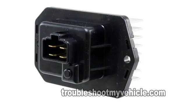 2003 honda crv ac wiring diagram towbar twin electrics part 1 how to test the blower motor power transistor 2001 2007 2005 7l