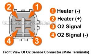 Part 1 Front Oxygen Sensor Heater Test P0135 (19982002