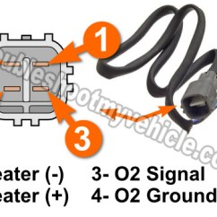 1997 Toyota Camry Wiring Diagram Ez Go Part 1 How To Test The Rear O2 Heater P0141 2000 2 2l Downstream Oxygen Sensor
