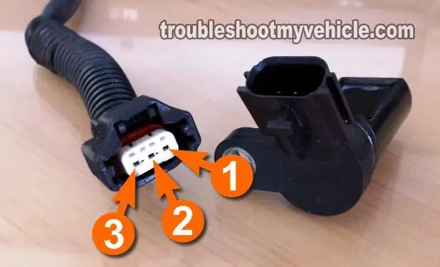 2013 Nissan Sentra Wiring Diagram Part 1 How To Test The Crankshaft Position Sensor 2000