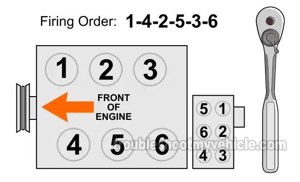 0 Engine Firing Ford 2003 4 Ranger Liter Order