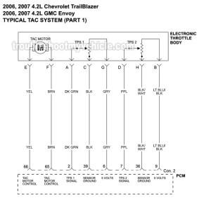 TAC System Wiring Diagram (20062007 42L Chevrolet