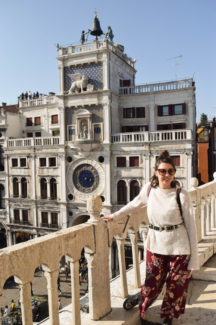 Walking around Venise