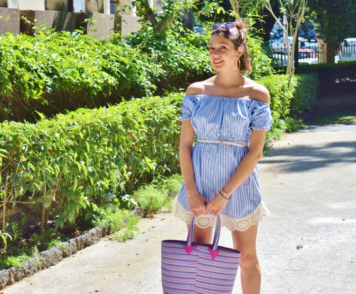 DIY shirt dress 061