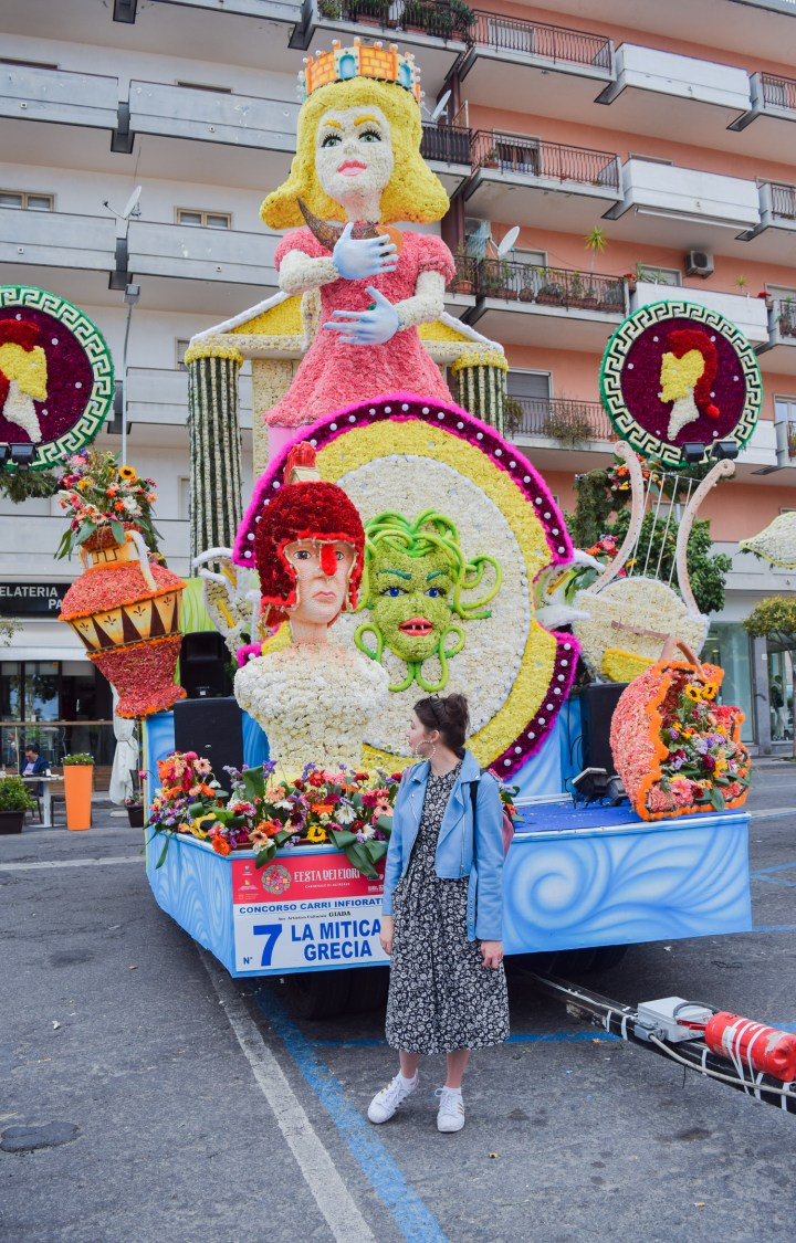 Flower festival in Acireale (April 18)