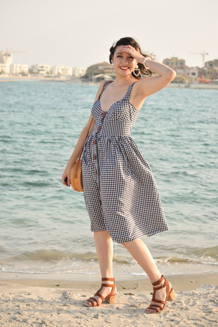 DIY gingham dress_0067