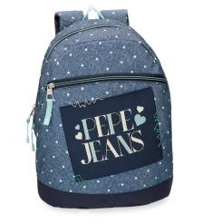 PEPE Jeans Olaia 6152161 Backpack Μπλέ