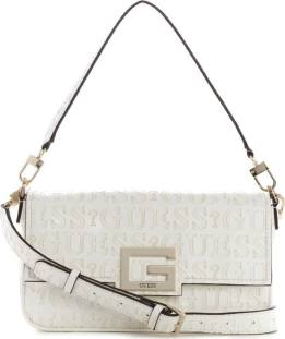 GUESS Shoulder Bag VD758019 Λευκό