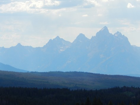 "The Grand Tetons. The Rockie's most famous mountains. Named by French fur-traders for ""big breasts"" tehehe"