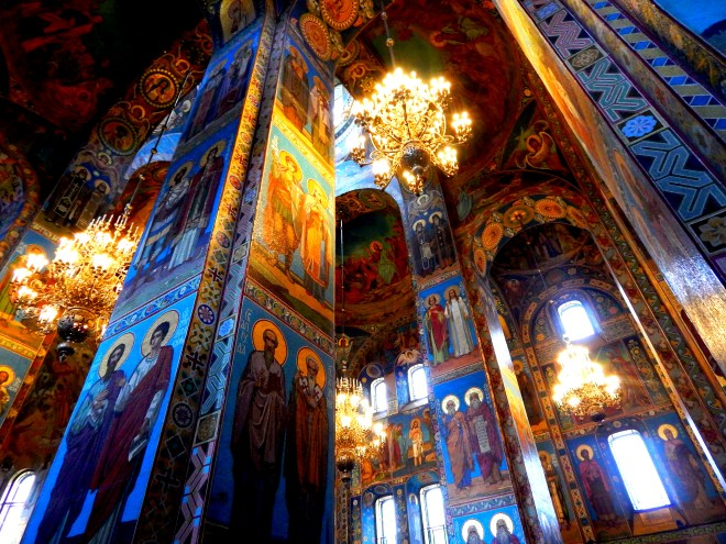Inside of the Church of Spilled Blood